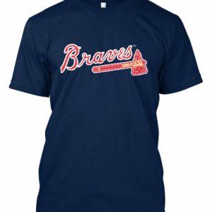 Atlanta Braves MLB T-Shirt Blue