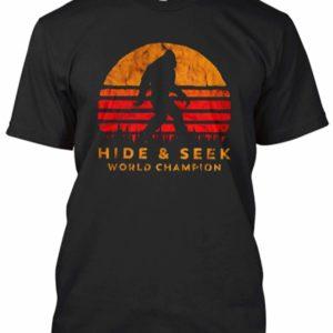 Hide Seek World Champion T-Shirt black