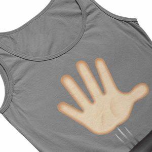 Drop the Mic Vest Grey