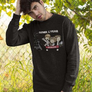 Father of The Year Darth Vadar Jumper Black A