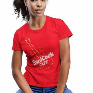 Hard C*ck Cafe T-Shirt Red