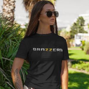 Ladies Brazzers shirt black