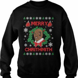 Merry Chrithmas Tyson Jumper Black