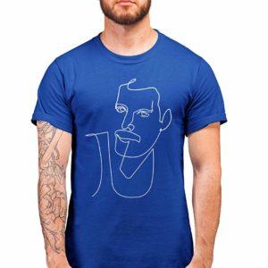 Queen Picazzo T-Shirt Blue