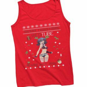 RedTube Christmas Vest Red