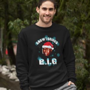 Snowtorious BIG Christmas Sweater