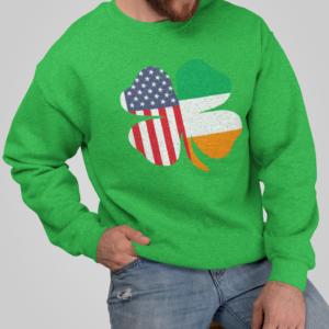 Irish American St Patricks Day Sweatshirt