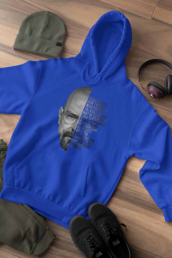 breaking bad walter hoodie blue