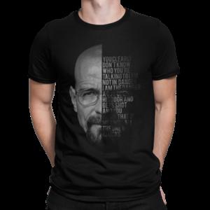 Breaking Bad Typography Shirt