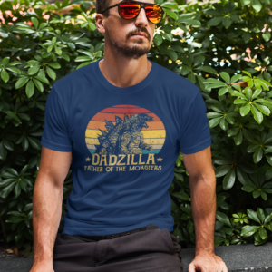 Dadzilla Father Of Monsters Father's Day
