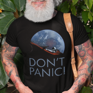Dont Panic SpaceX Inspired Science t shirt.png