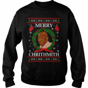 mike tyson merry chrithimith sweatshirt black
