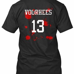 Voorhees 13 Jason Horror T-Shirt black